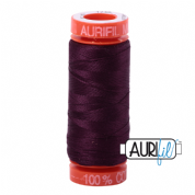 Aurifil 50 Cotton Thread - 1240 (Very Dark Eggplant)